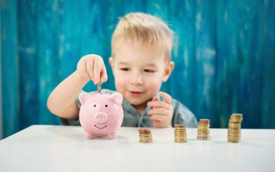 Früh übt sich: Geld sparen