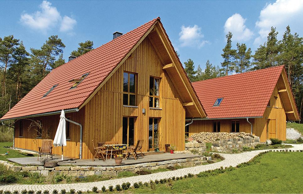 Einfamilienhäuser aus Holz