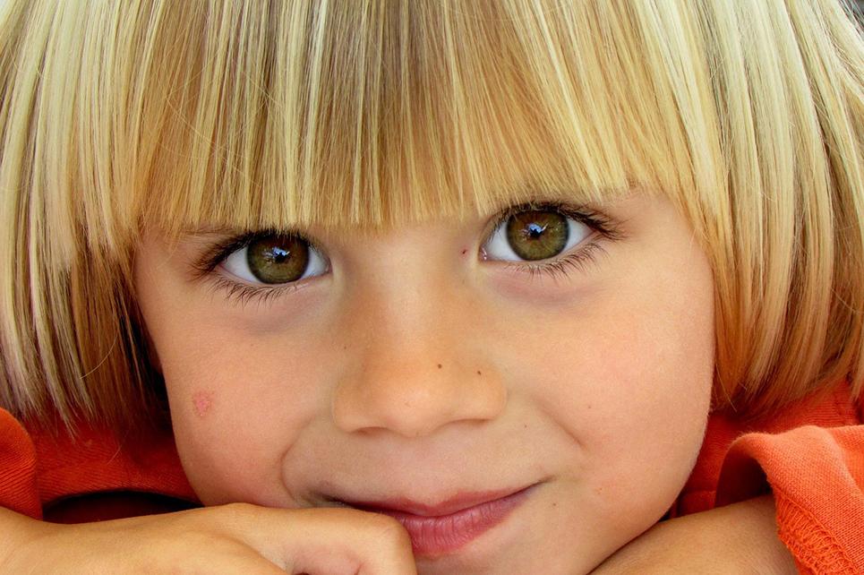 Was ist das Besondere an Kinderaugen?