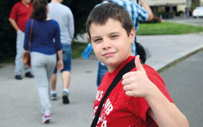 Wie Kinder vom täglichen Schulweg profitieren