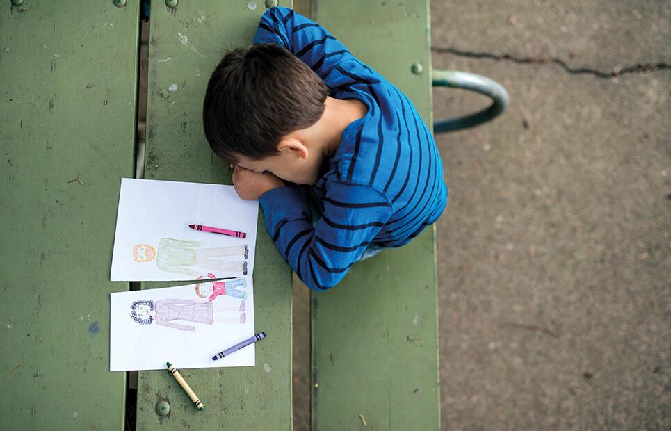 Wie Kinder die Trennung ihrer Eltern erleben
