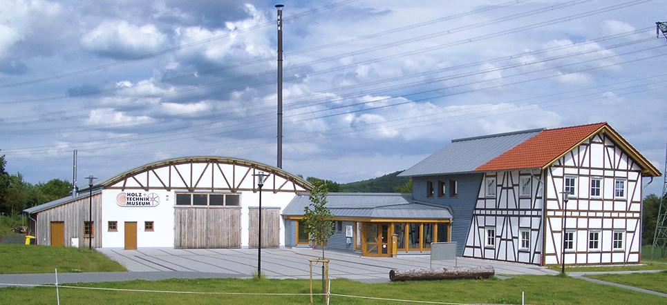 Ansiicht des Holz- und Technikmuseums Wettenberg