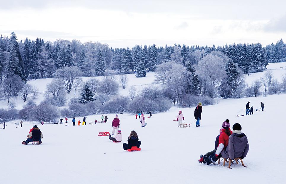 Winter im Taunus – ein Hochgenuss!