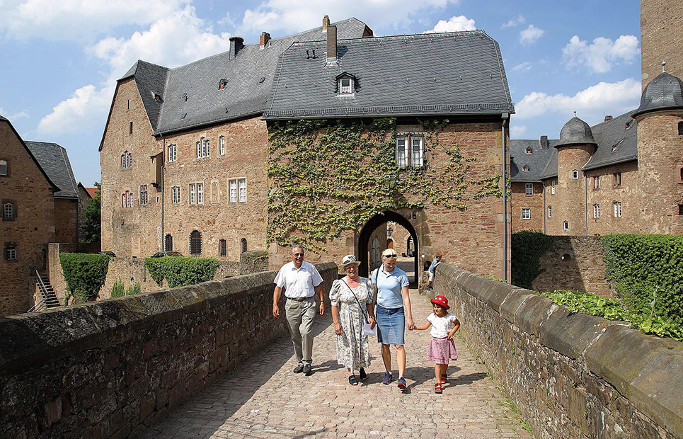 Südtor des Schlosses Steinau