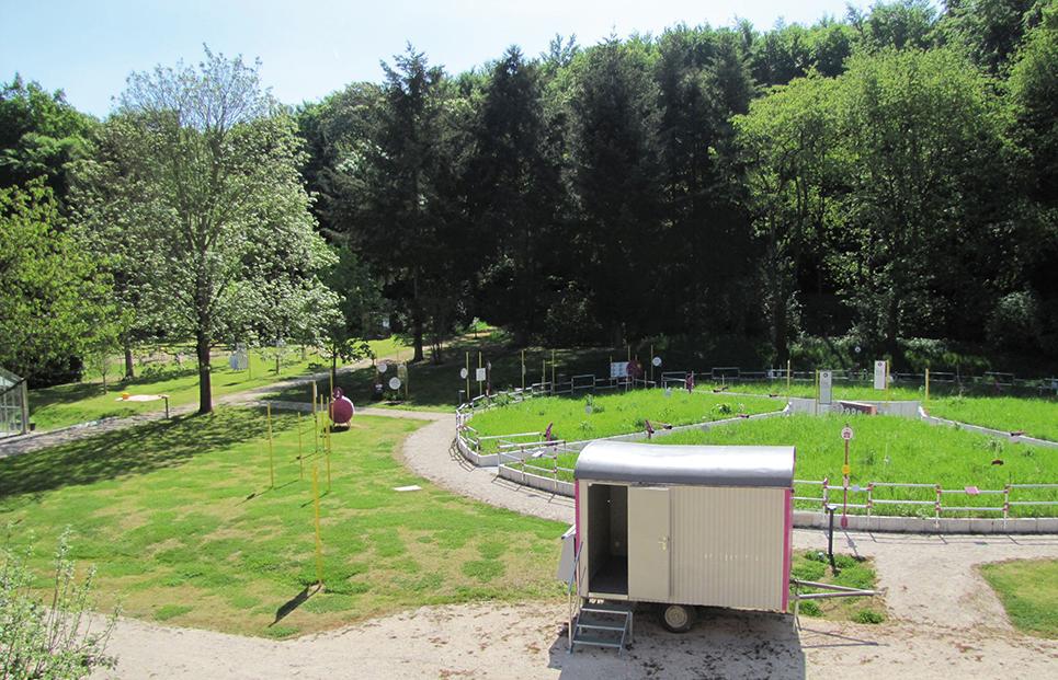 Ansicht des Freilandlabores des bioversums Kranichstein